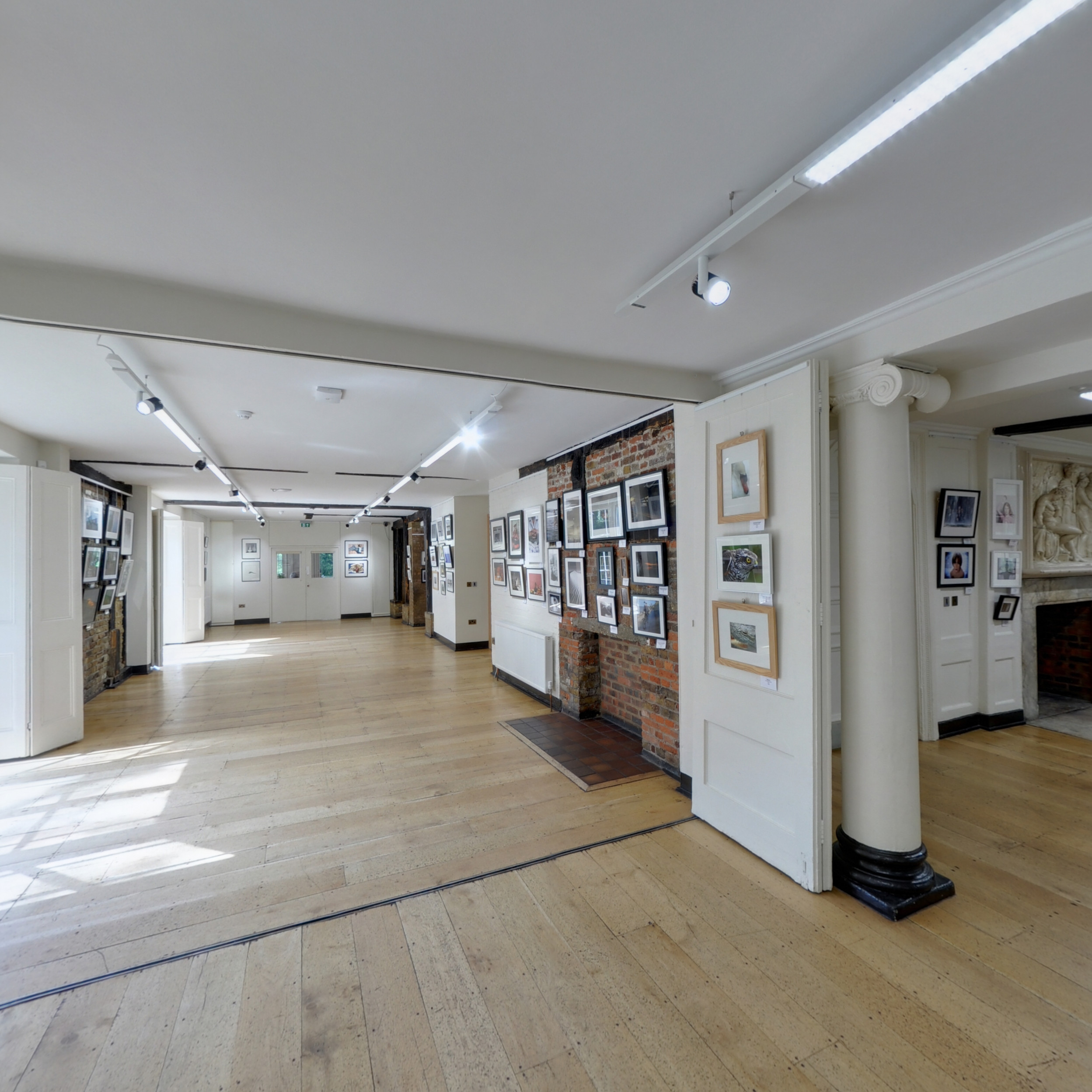 Lower Gallery and Entrance Hall