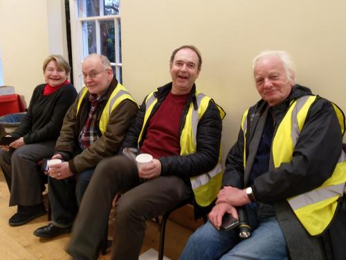 volunteers at Lauderdale House