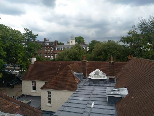 view of rooftop of lauderdale house
